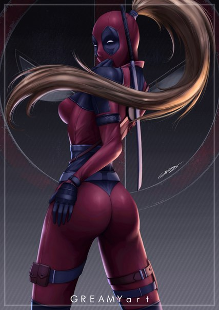 Lady Deadpool by #GreamyArt