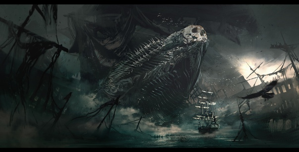 The Leviathan by #AlessandroPaviolo